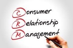Consumer Relationship Management Royalty Free Stock Image
