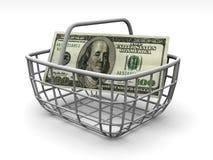 Consumer's basket Stock Photos