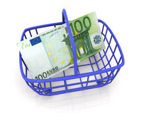 Consumer's basket Stock Photo