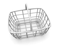 Consumer's basket. 3d Stock Photography