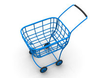 Consumer's basket. 3d Royalty Free Stock Image