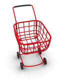 Consumer's basket Royalty Free Stock Image