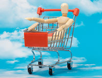 The consumer society Royalty Free Stock Photography