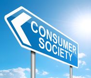 Consumer society concept. Stock Photography