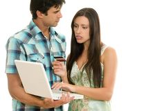 Consumer Spending Online Stock Images