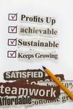 Consumer survey Royalty Free Stock Photos