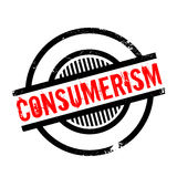 Consumerism rubber stamp Royalty Free Stock Photography