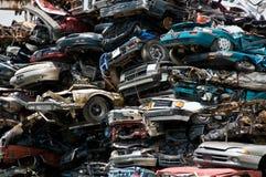 Consumerism wreckage stock photography