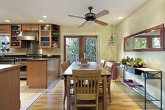 Consumición del área de la cocina Fotografía de archivo