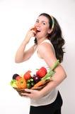 Consumición en la dieta Foto de archivo