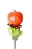Consumición sana - comida de la vitamina Imagen de archivo libre de regalías