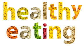 Consumición sana de las frutas y verduras Imagenes de archivo