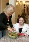 Consumición sana para el almuerzo Foto de archivo libre de regalías