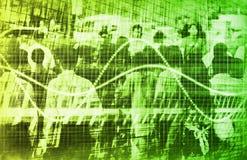 Consumidor demográfico Imagen de archivo