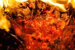 Consuming flames Stock Photos