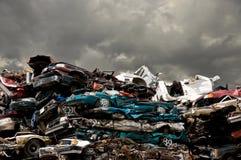 Consumismo tempestoso Fotografia Stock Libera da Diritti