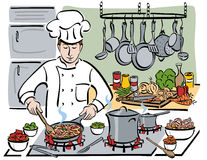 The Consummate Chef Stock Photography