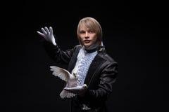 Consummate mastery of magician royalty free stock photos