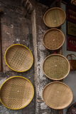 Consumo de alimentos de sequía residencial de Zhejiang Jiaxing Wuzhen Xigu del recogedor de polvo Foto de archivo libre de regalías