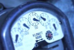 Consumo de energía Foto de archivo libre de regalías