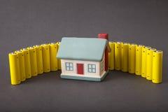 Consumo de energia da casa Fotografia de Stock