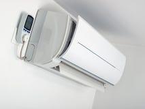 Consumo del acondicionador de aire Imágenes de archivo libres de regalías