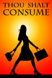 Consumption. Discussing overconsumption where resource use might outpace the sustainable capacity of the planet Stock Images