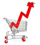 The consumption growth Royalty Free Stock Image