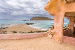 Conta beach in Ibiza Royalty Free Stock Image