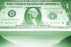 Conta de dólar Fotografia de Stock