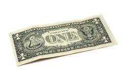 Conta de dólar Imagem de Stock Royalty Free