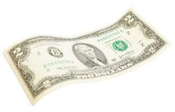 Conta de dólar dois Foto de Stock