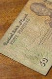 Conta de Egiptian Fotos de Stock