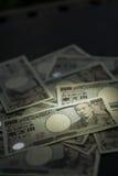 Conta do iene japonês Imagem de Stock