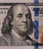 Conta dos dólares americanos Foto de Stock