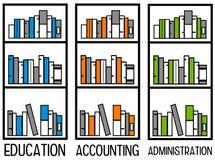 Contabilidad y la administración libre illustration