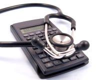 Contabilidade médica Fotografia de Stock Royalty Free