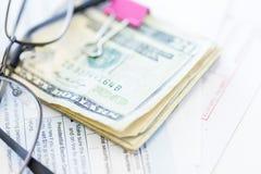contabilità Fotografia Stock Libera da Diritti