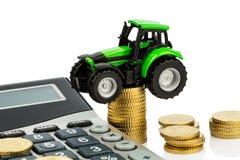 Contabilità industriale nell'agricoltura Immagini Stock Libere da Diritti