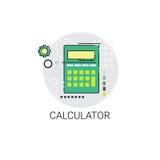 Contable Finance Analysis Icon de la calculadora Fotos de archivo libres de regalías