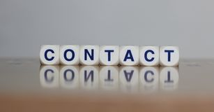 Contact Stock Afbeeldingen