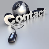 Contact vector illustration