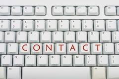 Contact royalty-vrije stock afbeelding