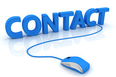 Contact Images libres de droits