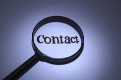 Contact Photo stock