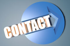 Contact Stock Afbeelding
