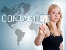 Contact Stock Afbeeldingen