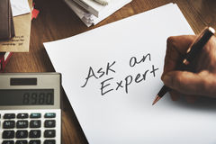 Contact Assistant Ask An Expert Concept Stock Images