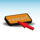 Contact button Stock Photos