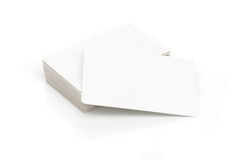 Contact cards Royalty Free Stock Photos